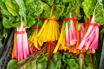 Swiss Chard contains lutein, which helps prevent brain aging.
